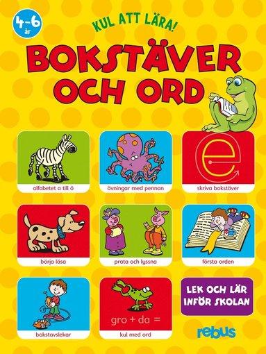 bokomslag Bokstäver och ord