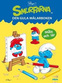 bokomslag Smurfarna : den gula målarboken
