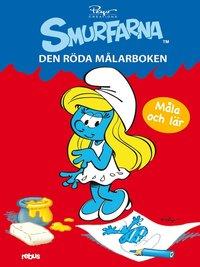 bokomslag Smurfarna : den röda målarboken