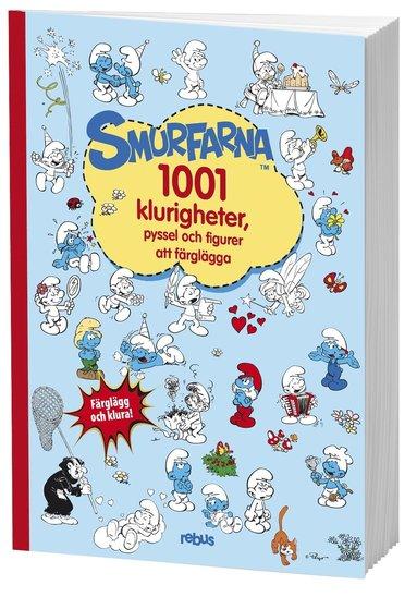 bokomslag Smurfarna : 1001 klurigheter