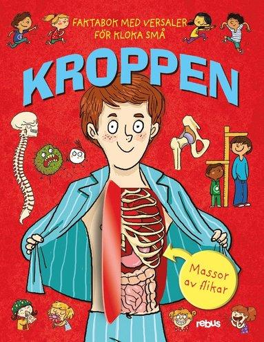 bokomslag Kroppen: Faktabok med versaler för kloka små