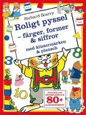bokomslag Roligt pyssel : färger, former & siffror med klistermärken & plansch
