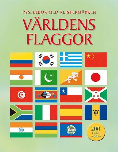 bokomslag Världens flaggor : pysselbok med klistermärken