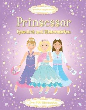 bokomslag Prinsessor - pysselbok med klistermärken