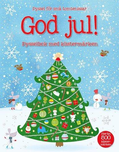 bokomslag God Jul! : pysselbok med klistermärken