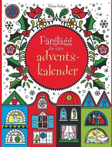 bokomslag Färglägg din egen adventskalender