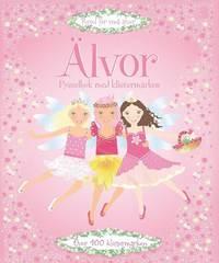 bokomslag Älvor : pysselbok med klistermärken