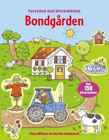 bokomslag Bondgården : pysselbok med klistermärken