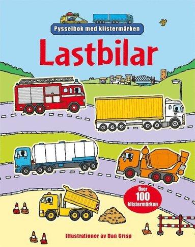 bokomslag Lastbilar - pysselbok med klistermärken
