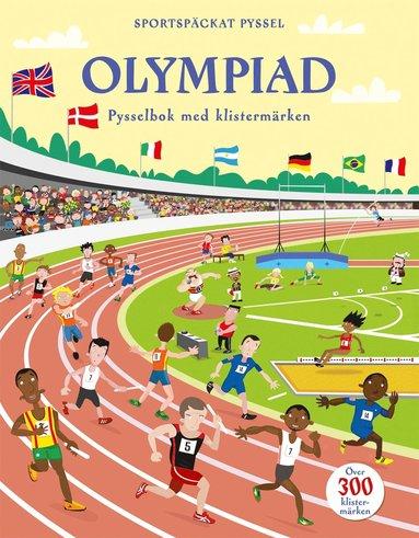 bokomslag Olympiad - pysselbok med klistermärken