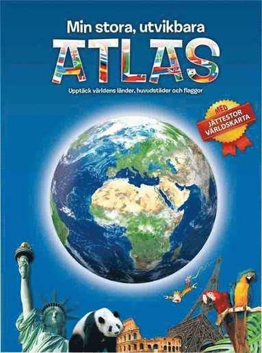 bokomslag Min stora, utvikbara atlas