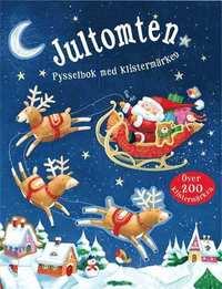 bokomslag Jultomten : pysselbok med klistermärken