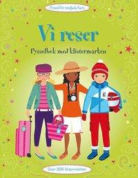 bokomslag Vi reser : pysselbok med klistermärken