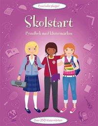 bokomslag Skolstart : pysselbok med klistermärken