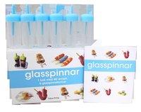 bokomslag Glasspinnar : en bok med 40 recept, 6 glasspinneformar