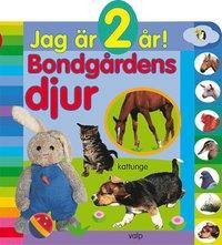 bokomslag Jag är 2 år! Bondgårdens djur