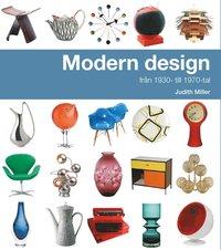 bokomslag Modern design från 1930- till 1970-tal