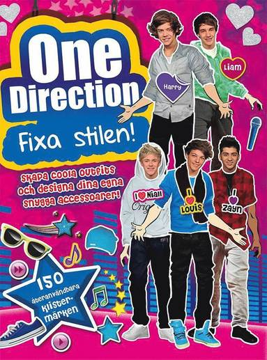 bokomslag One Direction: fixa stilen
