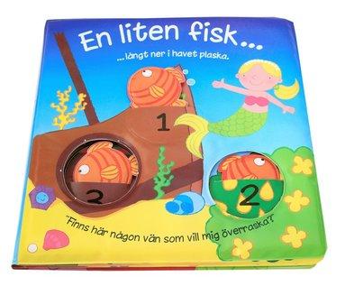 bokomslag En liten fisk (badbok med fönster)
