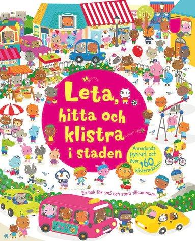 bokomslag Leta, hitta och klistra i staden