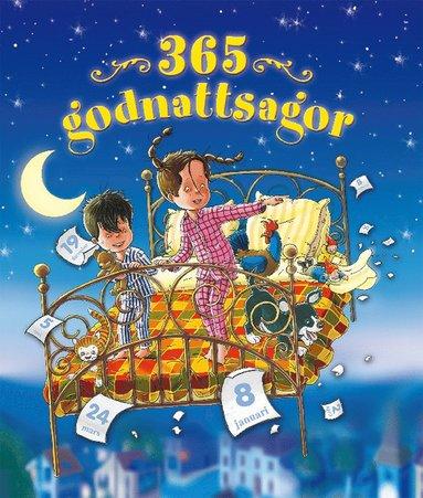 bokomslag 365 godnattsagor