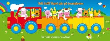 bokomslag Tuff, tuff! Tåget går på bondgården.