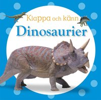 bokomslag Klappa och känn - dinosaurier