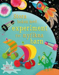 bokomslag Stora boken med experiment för nyfikna barn