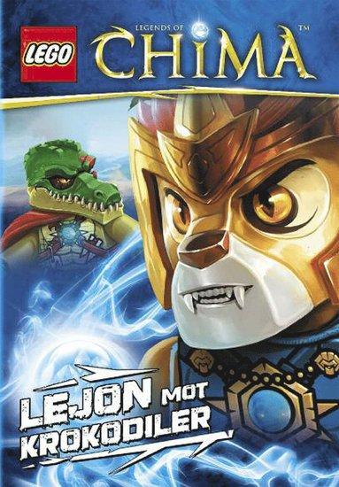 bokomslag LEGO Legends of Chima : lejon mot krokodiler