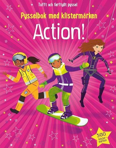 bokomslag Action! : pysselbok med klistermärken