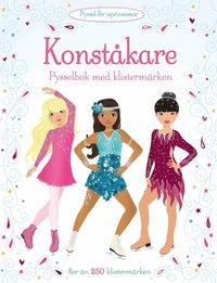 bokomslag Konståkare : pysselbok med klistermärken
