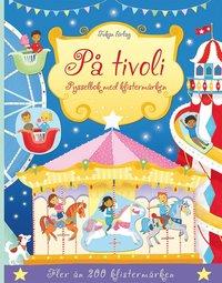 bokomslag På tivoli : pysselbok med klistermärken