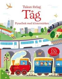 bokomslag Tåg : pysselbok med klistermärken
