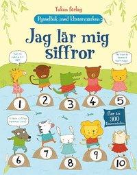 bokomslag Jag lär mig siffror : pysselbok med klistermärken