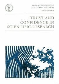 bokomslag Trust and Confidence in Scientific Research