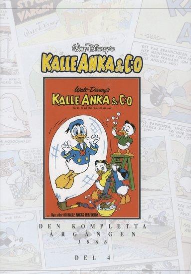 bokomslag Kalle Anka & C:o Den Kompletta Årgången 1966. D 4