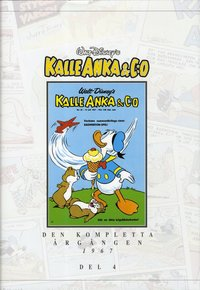 Kalle Anka & C:o. Den kompletta Årgången 1967. D.4