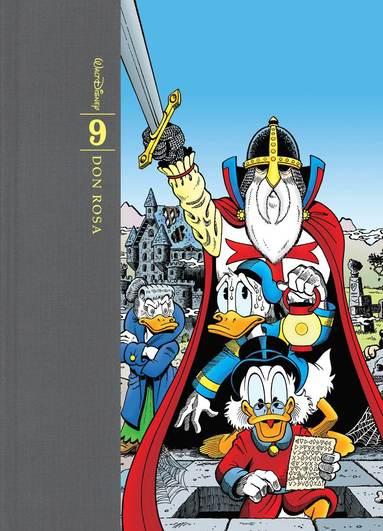 bokomslag Don Rosas samlade verk : tecknade serier och illustrationer. Bd 9, 2002-2007