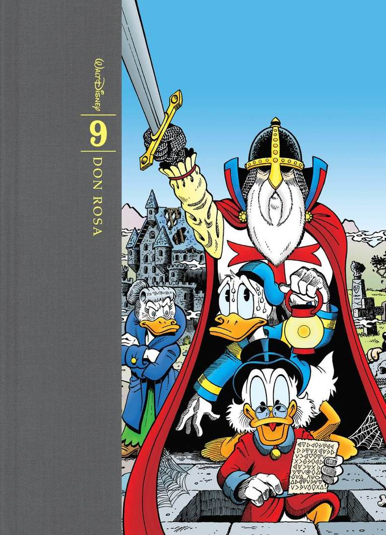 Don Rosas samlade verk : tecknade serier och illustrationer. Bd 9, 2002-2007 1