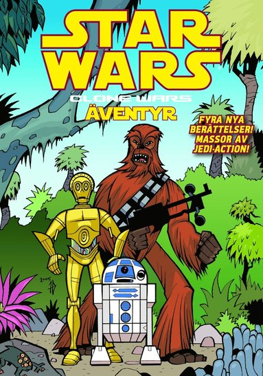 bokomslag Star Wars Clone Wars äventyr