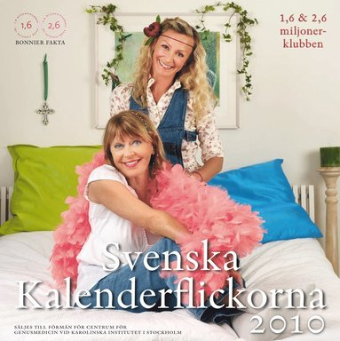 bokomslag Svenska kalenderflickorna 2010