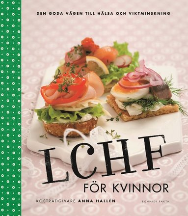 bokomslag LCHF för kvinnor