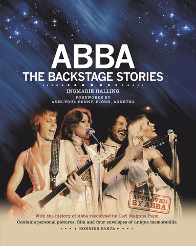 bokomslag ABBA : the backstage stories (engelsk)