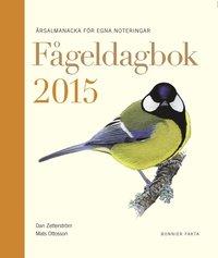 bokomslag Fågeldagbok 2015 : årsalmanacka för egna noteringar