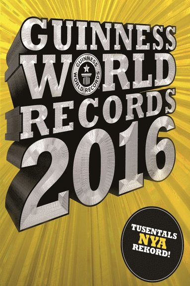 bokomslag Guinness World Records 2016