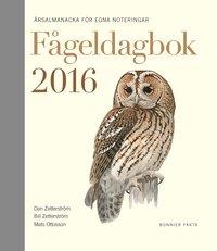 bokomslag Fågeldagbok 2016 : årsalmanacka för egna noteringar