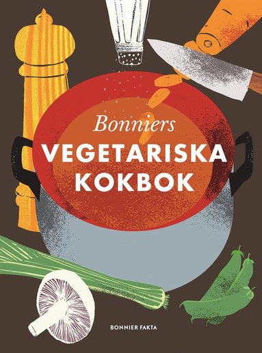 bokomslag Bonniers vegetariska kokbok
