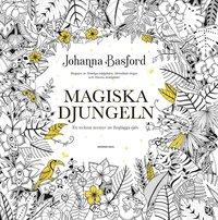 Magiska djungeln : ett tecknat äventyr att färglägga själv