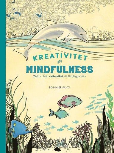 bokomslag Kreativitet och mindfulness - 24 kort från vattenriket att färglägga och skicka : 24 kort från vattenriket att färglägga och skicka