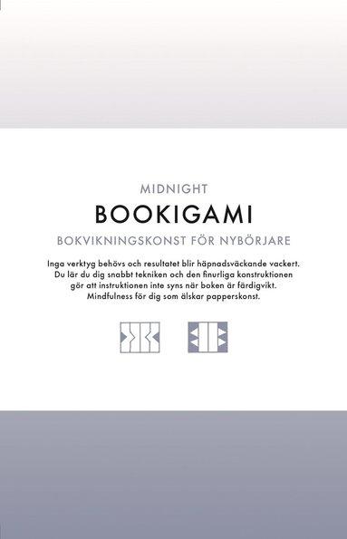 bokomslag Bookigami Midnight : bokvikningskonst för nybörjare